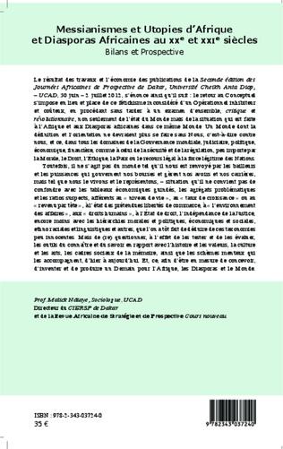 4eme Messianismes et Utopies d'Afrique et Diasporas Africaines au XXe et XXIe siècles