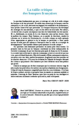 4eme La taille critique des banques françaises