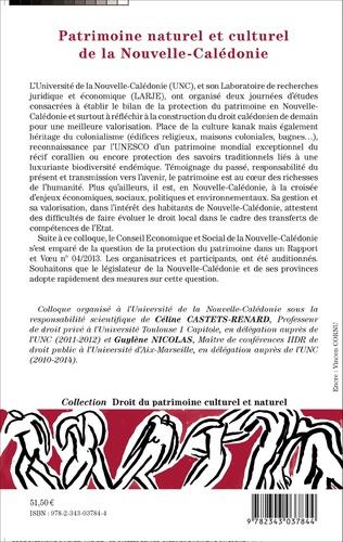 4eme Patrimoine naturel et culturel de la Nouvelle-Calédonie