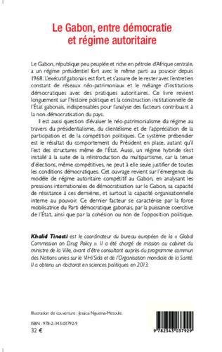 4eme Le Gabon, entre démocratie et régime autoritaire