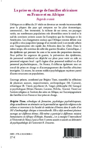 4eme La prise en charge de familles africaines en France et en Afrique