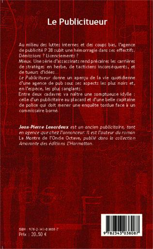 4eme Le publicitueur <em>Roman</em>