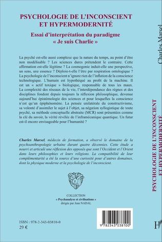 4eme Psychologie de l'inconscient et hypermodernité