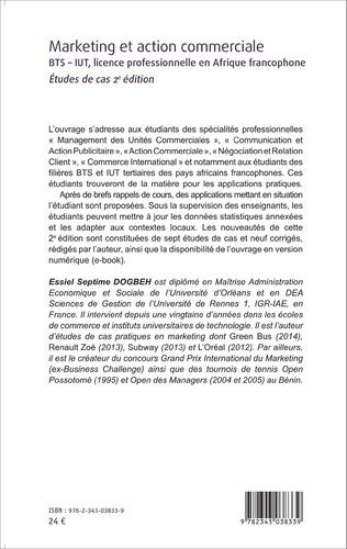 4eme Marketing et action commerciale BTS-IUT, licence professionnelle en Afrique francophone
