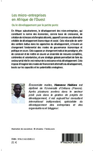 4eme Les micro-entreprises en Afrique de l'Ouest