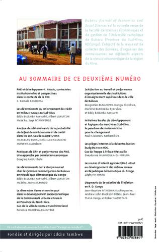 4eme PME et développement en RDC