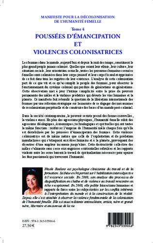 4eme Manifeste pour la décolonisation de l'humanité femelle