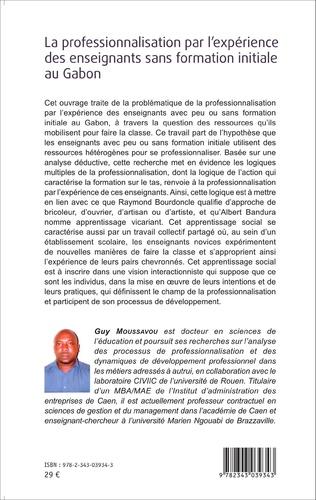 4eme La professionnalisation par l'expérience des enseignants sans formation initiale au Gabon
