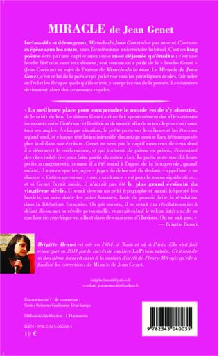 4eme Miracle de Jean Genet