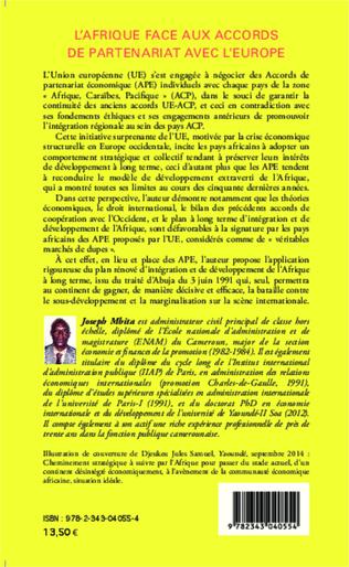 4eme L'Afrique face aux accords de partenariat avec l'Europe