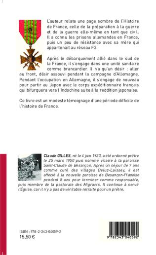4eme Journal de Guerre de l'Alsace à l'Indochine (1939-1946)