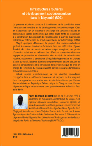 4eme Infrastructures routières et développement socioéconomique dans le Mayombé (RDC)