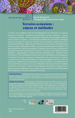 4eme Terrains océaniens : enjeux et méthodes