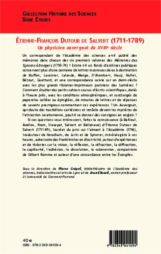 4eme Etienne-François Dutour de Salvert (1711-1789)