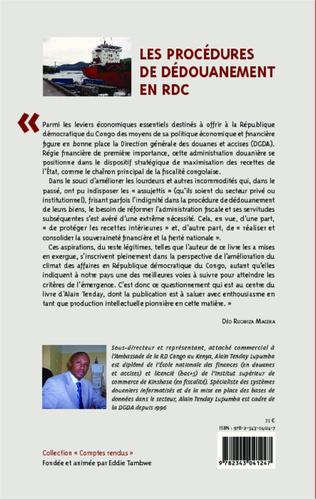 4eme Les procédures de dédouanement en RDC