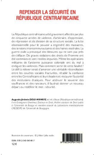 4eme Repenser la sécurité en République centrafricaine