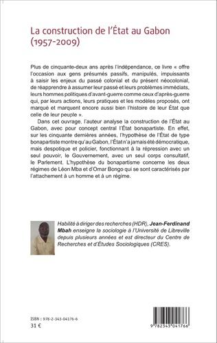 4eme La construction de l'État au Gabon (1957-2009)