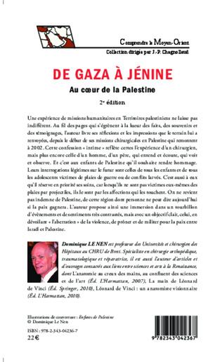 4eme De Gaza à Jénine (2e édition)