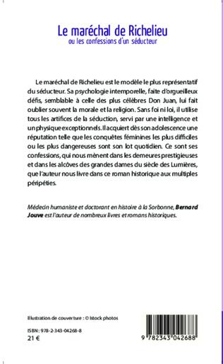4eme Le maréchal de Richelieu ou les confessions d'un séducteur