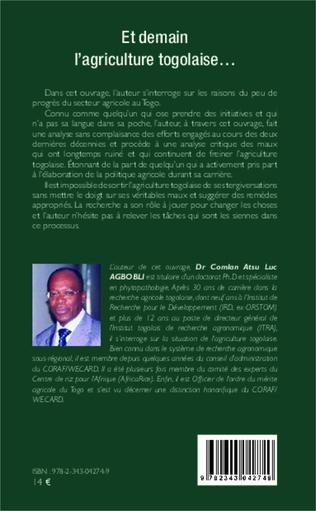4eme Et demain l'agriculture togolaise...