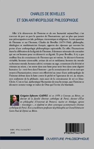 4eme Charles De Bovelles et son anthropologie philosophique