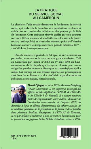4eme La pratique du service social au Cameroun