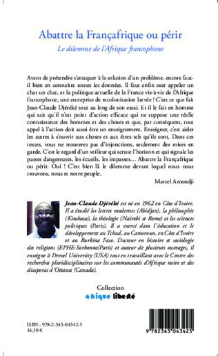 4eme Abattre la Françafrique ou périr