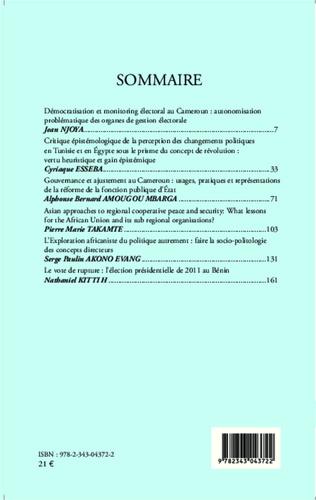 4eme Revue Africaine d'Etudes Politiques & Stratégiques RADEPS