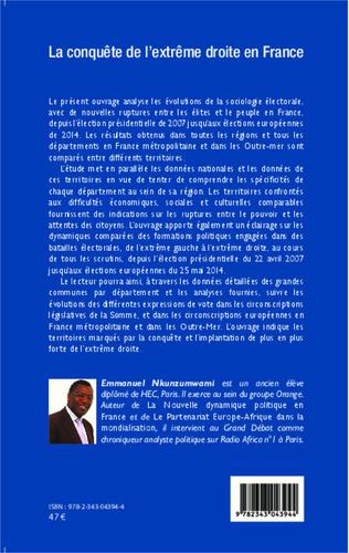4eme La conquête de l'extrême droite en France