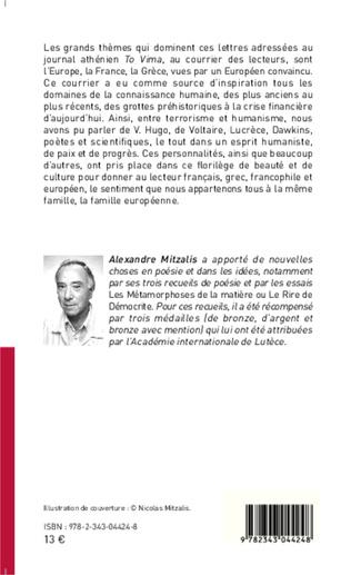 4eme Lettres au journal athénien <em>To Vima</em>