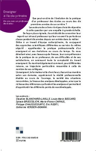 4eme CHAPITRE 1 L'évolution de la pratique enseignante de Benoît en mathématiques. Entre rupture et continuité