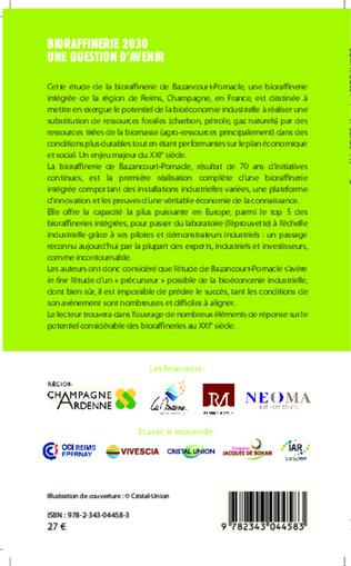 4eme Bioraffinerie 2030. Une question d'avenir