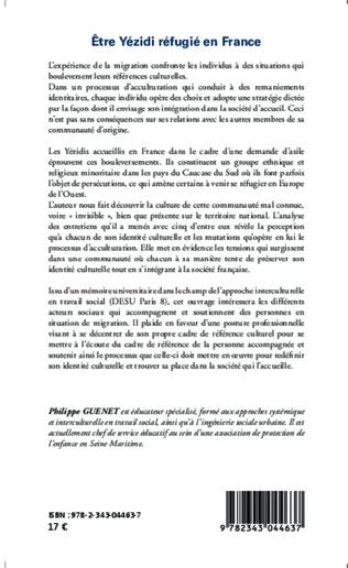 4eme Etre Yezidi réfugié en France