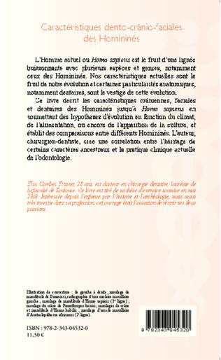 4eme Caractéristiques dento-crânio-faciales des Homininés