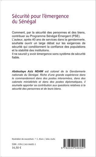 4eme Sécurité pour l'émergence du Sénégal