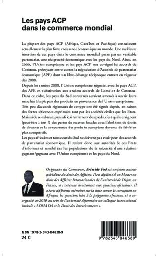 4eme Les pays ACP dans le commerce mondial