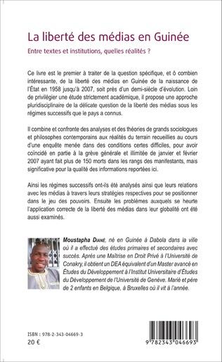 4eme La liberté des médias en Guinée