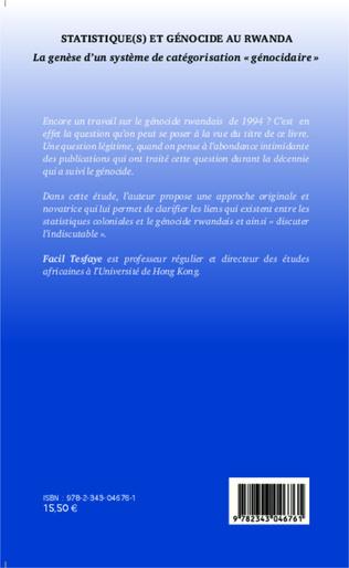 4eme Statistique(s) et génocide au Rwanda