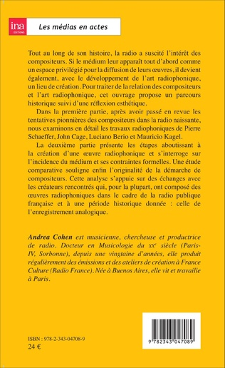 4eme Les compositeurs et l'art radiophonique