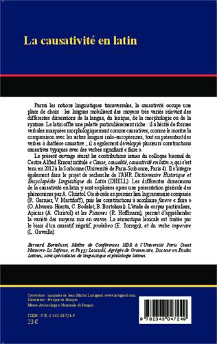 4eme La Causativité en latin