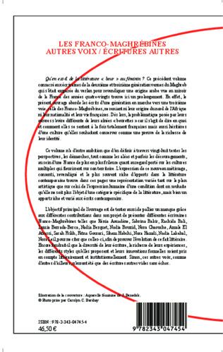 4eme Les Franco-Maghrébines
