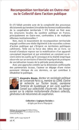 4eme Recomposition territoriale en Outre-mer ou le Collectif dans l'action publique