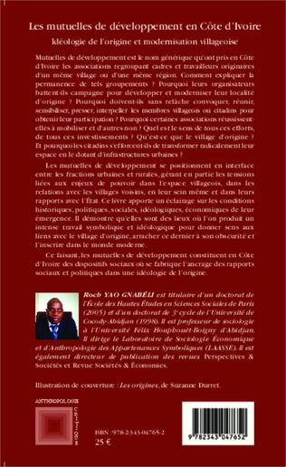 4eme Les mutuelles de développement en Côte d'Ivoire