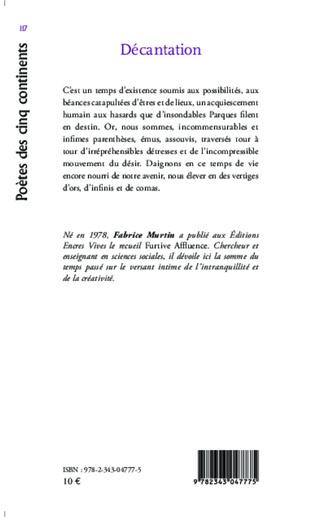 4eme Décantation