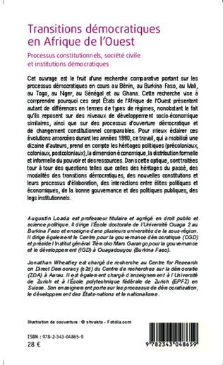 4eme Transitions démocratiques en Afrique de l'Ouest