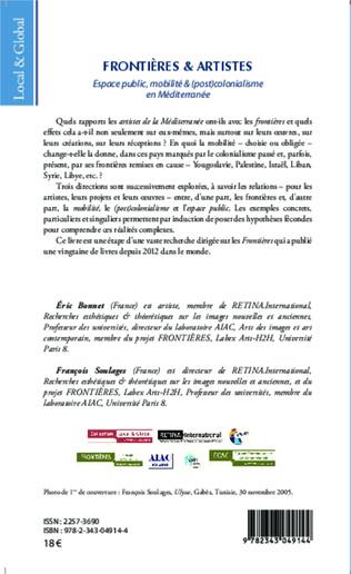4eme Ch. 7. Détournement cartographique. Bouchra Khalili