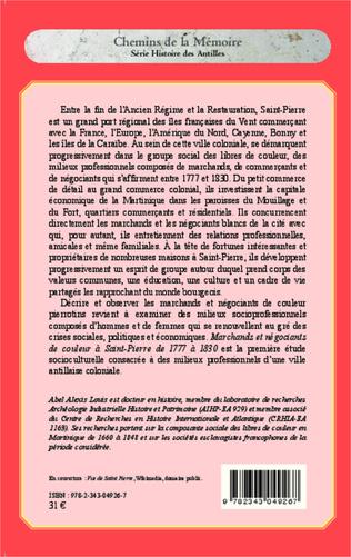 4eme Marchands et négociants de couleur à Saint-Pierre (1777-1830)