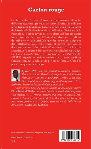 4eme Carton rouge