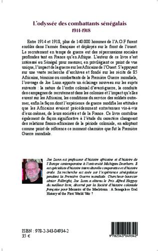 4eme L'odyssée des combattants sénégalais