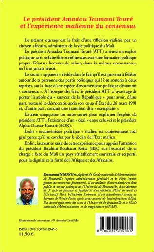 4eme Le président Amadou Toumani Touré et l'expérience malienne du consensus